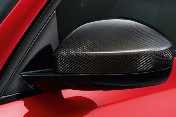 Jaguar E-Pace Carbon Fibre Mirror Covers